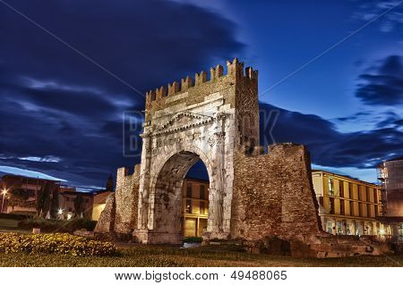 Rimini, The Arch Of Augustus