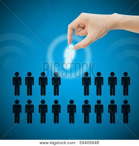 Select Person Career To Work Job