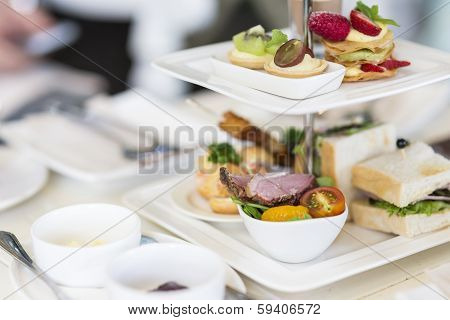 English High Tea Set