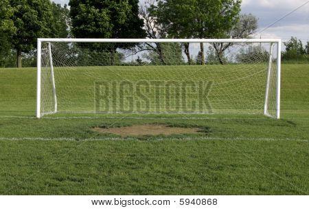 Wide Open Soccer Net