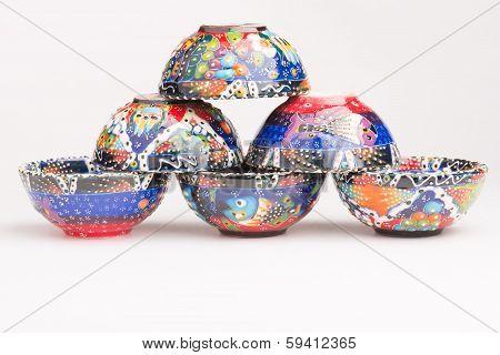 Handmade pottery art