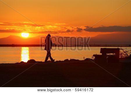 Sunset Walk, Richmond, British Columbia