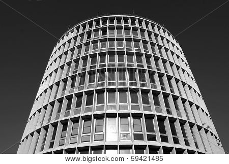 round modernistic building