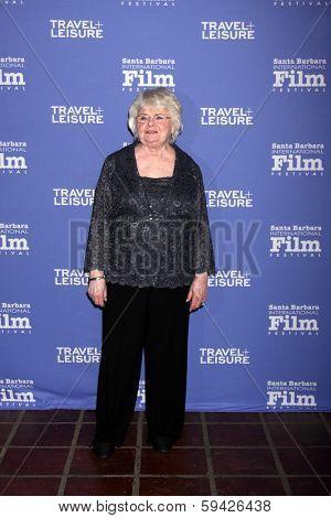 SANTA BARBARA - FEB 4:  June Squibb at the Santa Barbara International Film Festival Virtuosos Awards at Arlington Theater on February 4, 2014 in Santa Barbara, CA