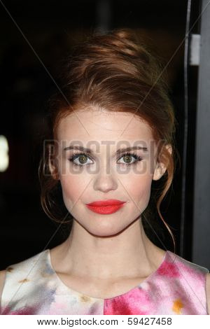 LOS ANGELES - FEB 4:  Holland Roden at the