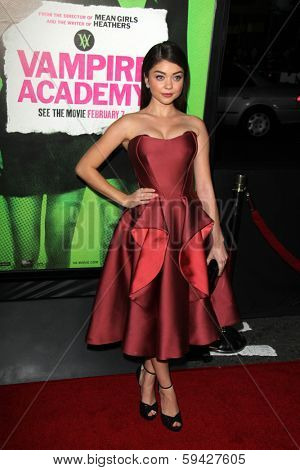 LOS ANGELES - FEB 4:  Sarah Hyland at the