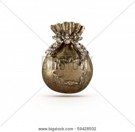 Bronze Present Bag Symbol