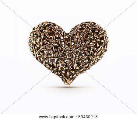 Bronze Decorative Heart