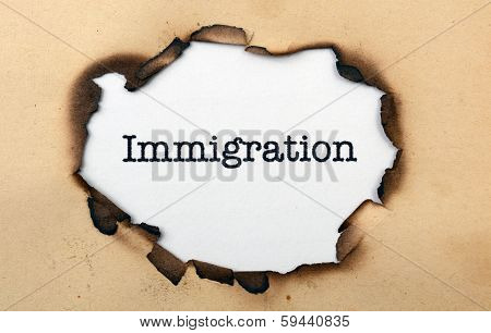 Immigration On Paper Hole