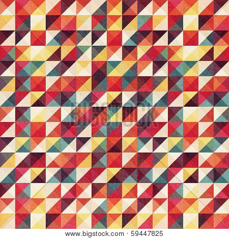 Abstract, vintage geometric background