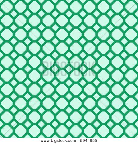 Green seamless pattern. Vector illustration