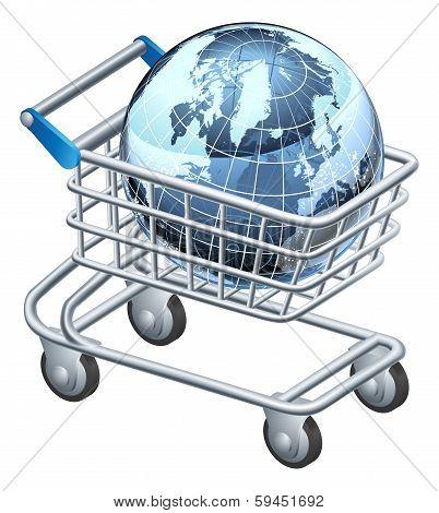 Shopping Trolley Globe