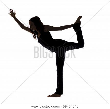 Lord Of The Dance Pose, Silhouette