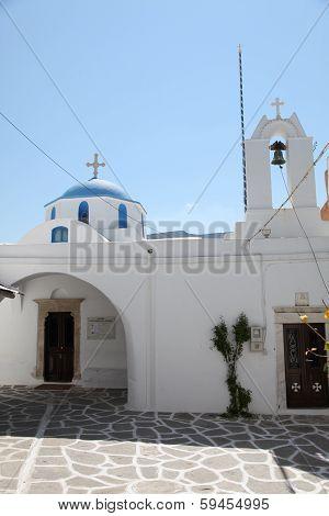 Church On Paros Island