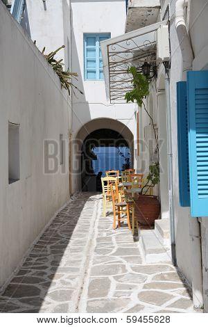 Street In Paros