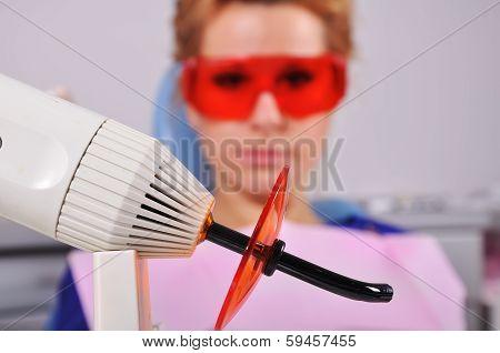 Dental Ultraviolet Light Tool