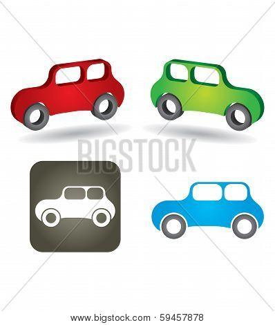Abstract Car Icon