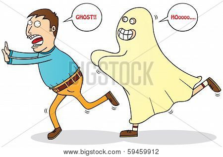 Afraid Of Ghost