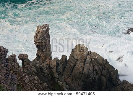 Rocks And Waves Y