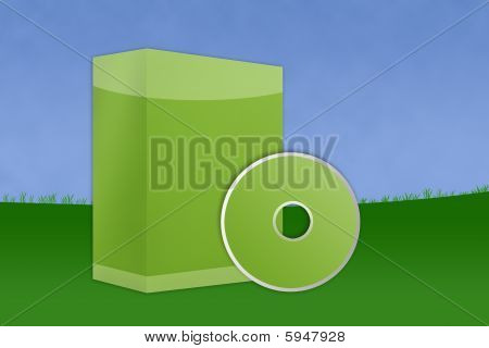 Landscape Blank Software Box
