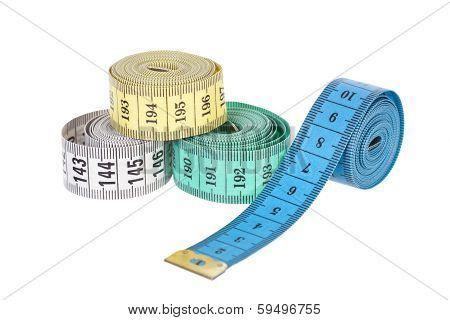 Multi-colored tape-line