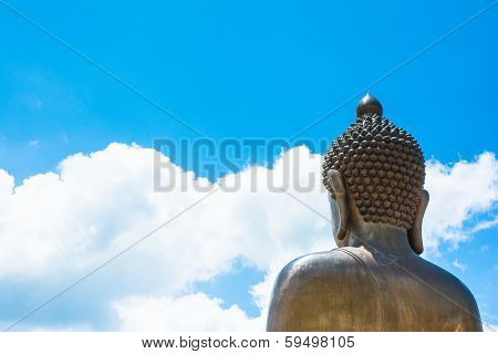 Buddha Statue On Natural