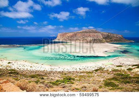 Balos Lagoon And Beach