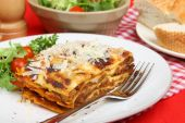 Lasagna With  Beef Meal