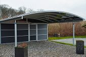Modern Carport Car Garage Parking
