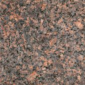 picture of granite  - Seamless red granite stone closeup background texture - JPG