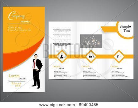 Tri -fold Business brochure design