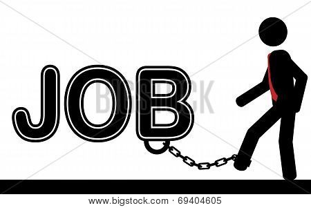 Chained to JOB