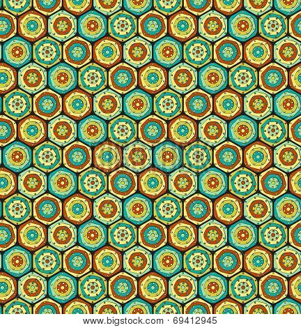 Multicolor Hexagons
