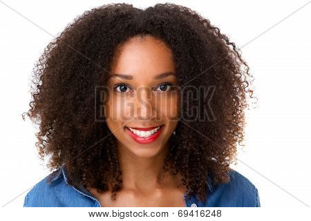 Beautiful African Girl Smiling