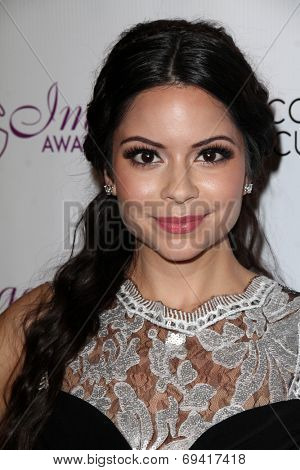 LOS ANGELES - AUG 1:  Melissa Carcache at the Imagen Awards at the Beverly Hilton Hotel on August 1, 2014 in Los Angeles, CA