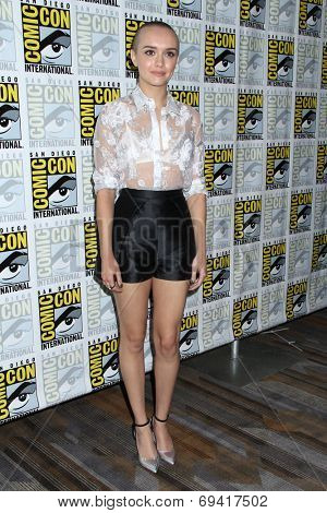 SAN DIEGO - JUL 25:  Olivia Cooke at the