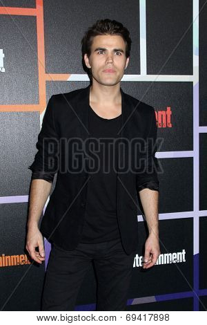 SAN DIEGO - JUL 26:  Paul Wesley at the Emtertainment Weekly Party - Comic-Con International 2014 at the Float at Hard Rock Hotel San Diego on July 26, 2014 in San Diego, CA