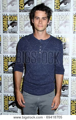 SAN DIEGO - JUL 25:  Dylan O'Brien at the