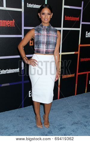 SAN DIEGO - JUL 26:  Rocsi Diaz at the Emtertainment Weekly Party - Comic-Con International 2014 at the Float at Hard Rock Hotel San Diego on July 26, 2014 in San Diego, CA