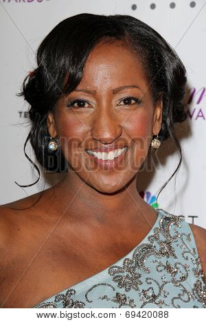 LOS ANGELES - AUG 1:  Melissa Haizlip at the Imagen Awards at the Beverly Hilton Hotel on August 1, 2014 in Los Angeles, CA