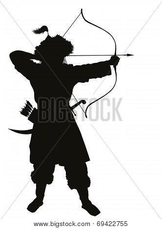 Oriental  archer. Warriors Theme