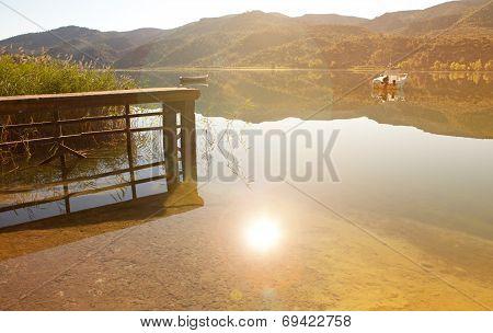 Concret Pier Landscape