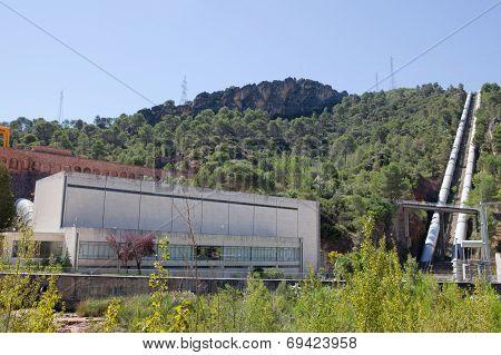 Bolarque Dam Pumping Station