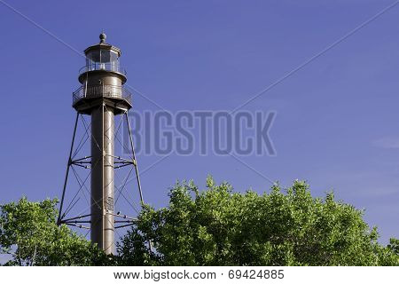 Lighthouse At Sanibel Island