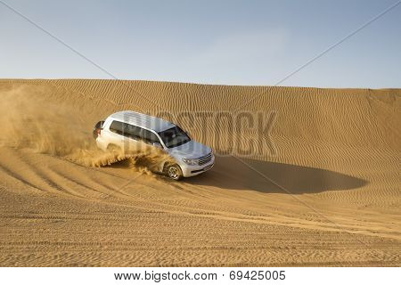 Desert Safari in Dubai, UAE.