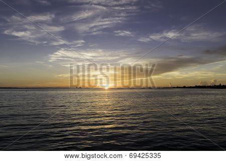 Sunrise At Sanibel Island