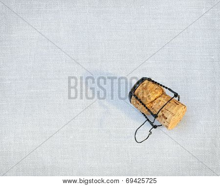 Cork From A Bottle Of Champagne Often Used As Part Of A Winning Celebration Especially In Grand Prix