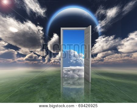 Doorway into other world