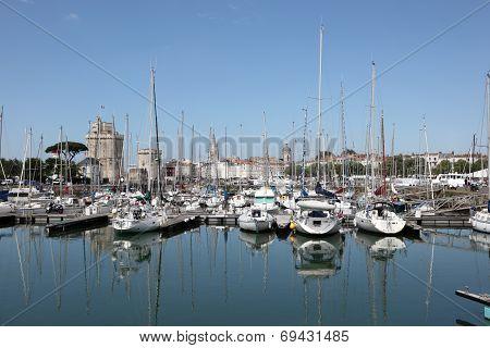 Marina of La Rochelle, France