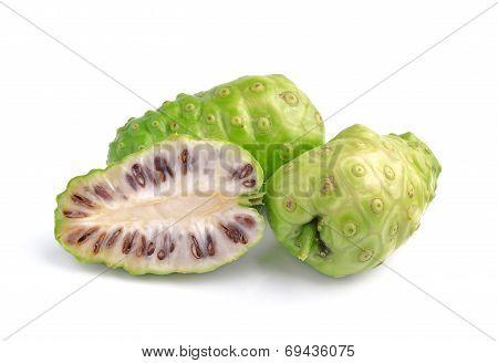 Exotic Fruit - Noni On White